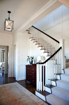Stairway  Foyer - traditional - staircase - charleston - Phillip W Smith General Contractor, Inc.