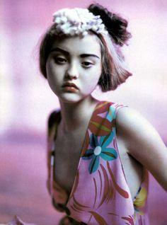 adjectival: Technicolor, Devon Aoki by Paolo Roversi for Numéro...