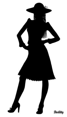 LAMINAS EN BLANCO Y NEGRO Silhouette Clip Art, Silhouette Files, Wall Stickers Unique, Career In Fashion Designing, Dress Bar, Art Of Beauty, Sharpie Art, Pen Art, Cute Diys