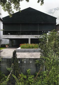 subtilitas:  Valerio Olgiati - Dado, the architect's studio in Flims 2008. Own scan from here.