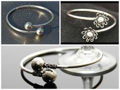 Verras haar met onze prachtige zilveren spang armbanden! Armbanden van zilver mer leuke details