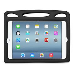 Big Grips Lift for iPad Air and Air 2 - Black Ipad Mini Cases, Retina Display, New Ipad, Ipad Air, Babies, Store, Big, Black, Babys