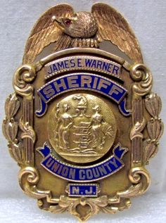 new jesey police badges | ... , Atlantic City, New Jersey Police badge, one of two known to exist