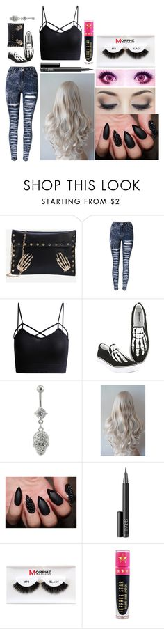 """""""Bailey: August 25, 2016"""" by disneyfreaks39 ❤ liked on Polyvore featuring NARS Cosmetics, Morphe and Jeffree Star"""
