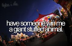 Have always wanted that
