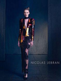 """Nicolas Jebran """"Nostalgia"""", F/W 2015-2016 - Couture"""