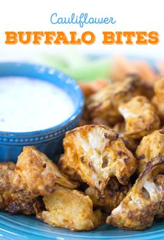 This low carb recipe for cauliflower buffalo bites is actually healthy. Try making it next time you want a healthy appetizer.