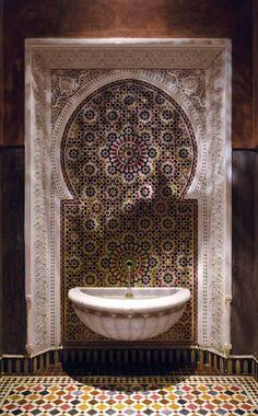 Stunning Moroccan Fountain