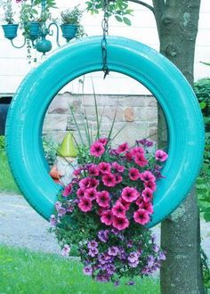 EL MUNDO DEL RECICLAJE: Recicla un neumático…