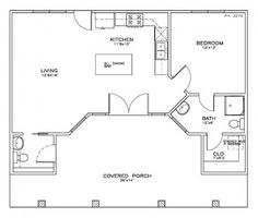 house plan 5062 beachcoastal 1 bedroom 1 12 bath 723 sq