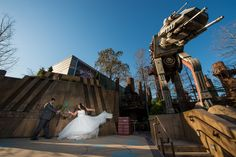 Watch out for this lovers' quarrel at Star Tours in Disney's Hollywood Studios. Photo: Stephanie, Disney Fine Art Photography