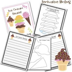 persuasive writing - yep, it's the Lesson Plan Diva again! http://www.lessonplandiva.com/2012/04/persuasive-writing.html