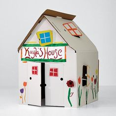 3 foot tall cardboard playhouse