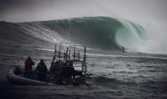 Some of the biggest surfing waves in the world - Dungeons - close to Noordhoek- Cape town