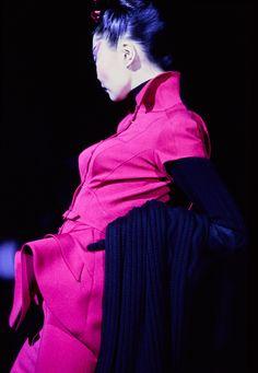 Mugler Fall 1995 Couture Fashion Show - Irina Pantaeva