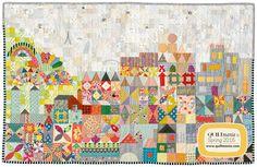 Quiltmania Hors-série Printemps/Spring2015 Mon petit monde - My Small World Jen Kindwell http://www.quiltmania.com/organisation/la-boutique.html?type_produit=HS