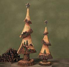 Christmas Tree Carvings