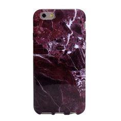 iPhone 5, 6 en 6 Plus Hard Case 'Bordeaux Stone'