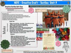 AS WJEC Textiles | Creative Crafts Unit 3 A Level Textiles, Textile Products, Creative Textiles, Study Design, Project Ideas, Projects, Educational Technology, Creative Crafts, Briefs