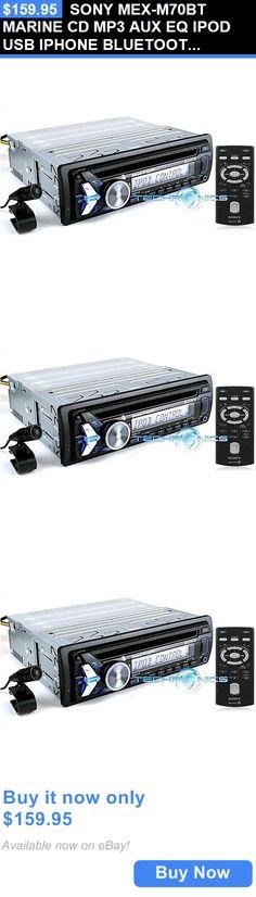 Sony MEX-M70BT Marine CD /& USB Car Motorcycle Receiver In Box W//Accessories