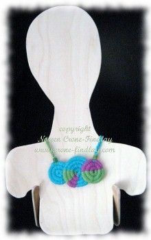 Crone-Findlay Creations -- Jewelry Woven on the Stick Weaving Loom