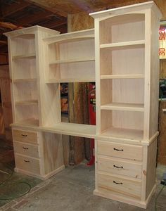 Southern Fine Custom Wood - This company out of Pensacola, FL, is building a continuous wall of cabinets for my office/sewing room!