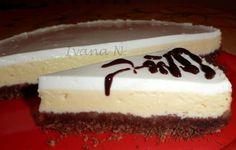 POTŘEBNÉ PŘÍSADY:  Korpus:  200 g kakaových Be Be sušenek 80 g másla  Náplň:  200 g Lučiny 250 g tvarohu ve vaničce 150 g třtinového cukru 3 vejce 2 PL  ...