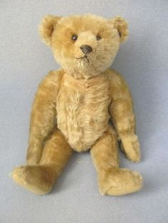 """Very Old Vintage Steiff Bear 12"""" Rare Antique Early 1900's Good Condition!"""
