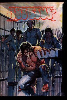 HOT STUF' #8 Neal Adams Ken Barr Strnd Colon Boxell Larson Cuti Illustrated SF Horror Fantasy Illustration Mature Comics Art*