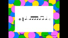 A fun way to practice reading known rhythmic elements, ta, ti ti, rest and tika tika. Play this clip and students read and perform the rhythms shown.