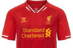 Liverpool 13 14 home kit