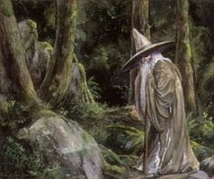 Sacrifice of Form (Gandalf) - Rob Alexander Gandalf, Lotr Trilogy, The Hobbit Movies, Jrr Tolkien, Military Art, Middle Earth, Lord Of The Rings, The Magicians, Bald Eagle