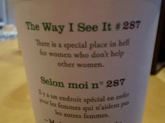 spreading the good word, one overpriced coffee at a time. #feminism
