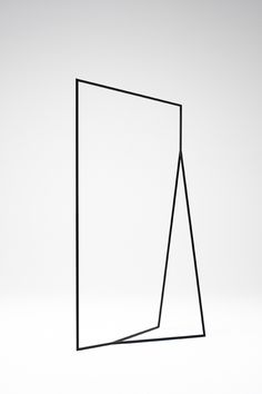 minimal graphic structures - thin black lines collection by Nendo