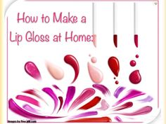 Homemade lip gloss and moisturizer. Lip Gloss, Beauty Hacks, Moisturizer, Facial, Remedies, Skincare, Lips, Homemade, Videos