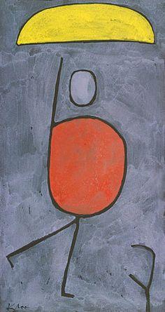 Paul Klee: Mit Sonnenschirm. 1939