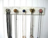 Nautical Jewelry Holder for Hanging Necklaces. $32.00, via Etsy.