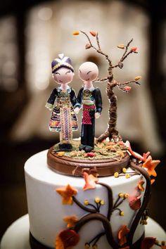 Hmong cake topper