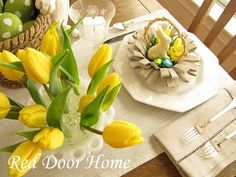 Fun Easter Tablescapes
