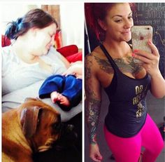 """Ending our #PINKtransformation with a long time FiP beauty @fitwithvicki  She says """"I had every excuse to why I wasn't making a change why my life was the way it was and I settled for the fact that this was how it was going to be! Truth of the matter was I was too lazy to make a change! I didn't want it bad enough. I let everything hold me back! I just didn't think that I deserved anything better!And I was wrong!!! There comes a time when we need to wake up and realize that our lives can…"""