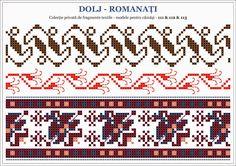 traditional Romanian blouse from MOLDOVA, Bacau county Stitch Patterns, Knitting Patterns, Palestinian Embroidery, Hama Beads, Beading Patterns, Blackwork, Pixel Art, Cross Stitch, Traditional