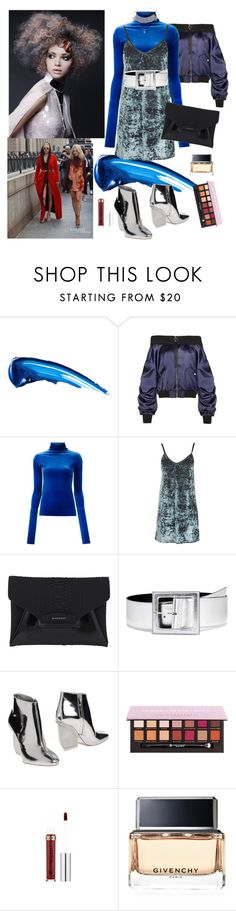"""""""Urban Style"""" by denibrad ❤ liked on Polyvore featuring Anastasia Beverly Hills, Les Animaux, Topshop, Givenchy, Yves Saint Laurent and Maison Margiela"""