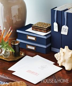 DIY customized home office accessories | House & Home