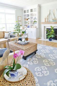 Beach Cottage Dining | Beach House Inspiration ⚓ Coastal Home Decor ...