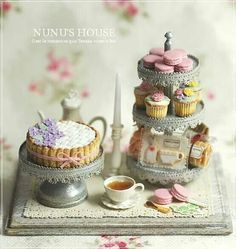 ♡ use mini pansies emb on cake