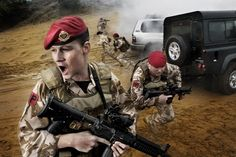 Military Police Bodyguard - You'll learn to work as part of a team and also on your own, and to be responsible, dependable and quick thinking under pressure