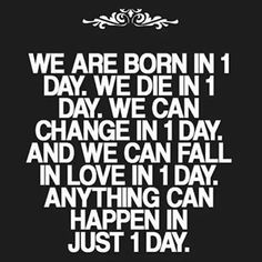 Yes it can. Live life to the fullest.
