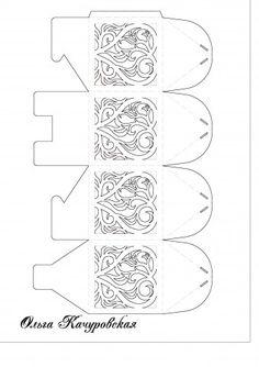decorative gift box template...  http://stranamasterov.ru/node/475462
