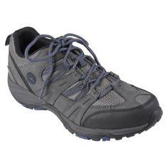 Mens Waterproof Hiking Shoes - Grey