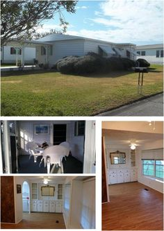 SOLD Brand new double carport and expanded driveway for all your vehicles! Tile counter tops and vinyl, wood-look easy-care flooring. Newer refrigerator and GAS range! Newer roof & a/c., nice corner lot! $54,300 #spacecoast #florida #Homeforsale #LOVEXIT